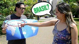DIGA O NOME DE UM PAÍS (qualquer país!!) | Experimento Social