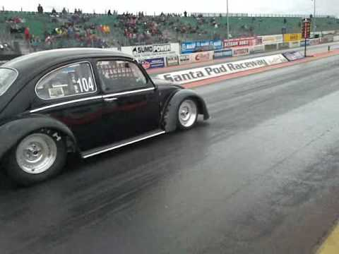 Electric Powered Beetle Dragster - Black Current III