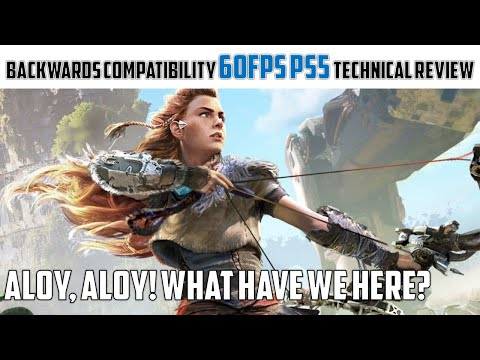 Horizon: Zero Dawn - The PS5 BC Patch, 60fps update PS5   PC   PRO