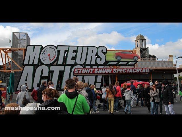 Шоу в Парижском Диснейленде Moteurs… Action! Stunt Show Spectacular