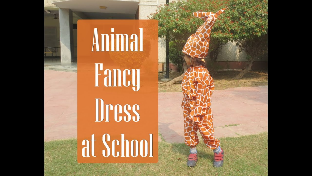 d22356cc45 Animal Fancy Dress at School