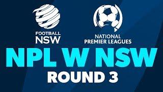 NPL W NSW, Round 3, Manly United FC v Football NSW Institute #NPLWNSW