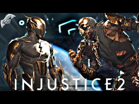 Injustice 2 Online - GOLD SCARECROW VS GOLD FLASH!