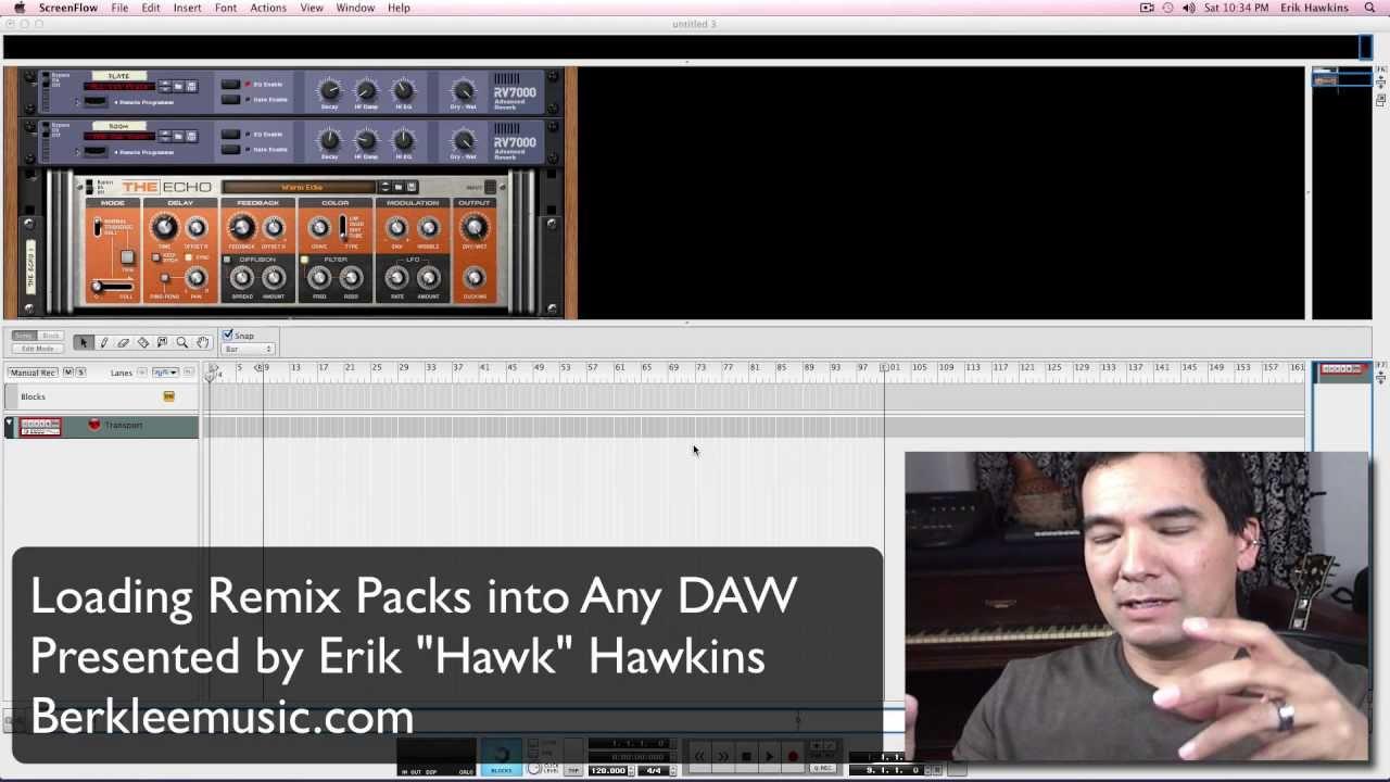 Loading Remix Packs into Any DAW (Digital Audio Workstation)