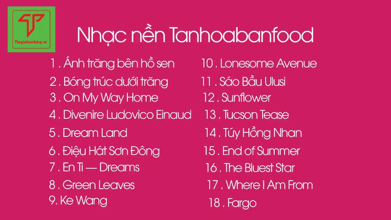 NHẠC NỀN HOA BAN FOOD