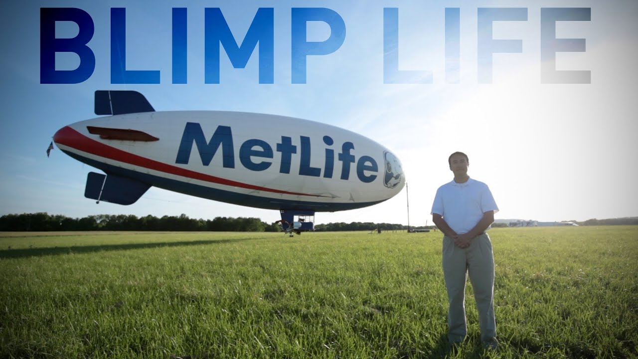 Blimp Life: Flying High with a Unique American Sports Icon