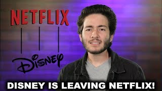 Short Scoop - Disney is leaving Netflix!
