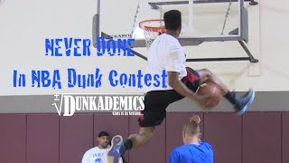 36 Dunks NEVER Done in the NBA Dunk Contest : Dunkademics Video