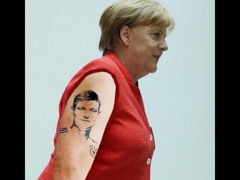 Merkel Satire