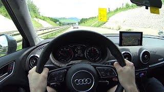 2018 Audi A3 1.5 TFSI S tronic- short testdrive - POV
