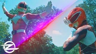 PINK RANGER vs. RED RANGER  | Live Action Power Ranger FIGHT!
