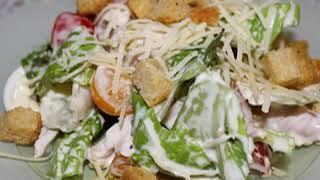 необычные салаты из простых продуктов