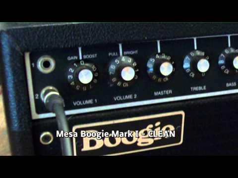 Demo sounds TCase 2xISO - Mesa Boogie Mark I - Marshall AFD-100 Slash Signature
