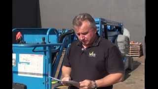 Aerial Lift Operator Familiarization Training Part 1