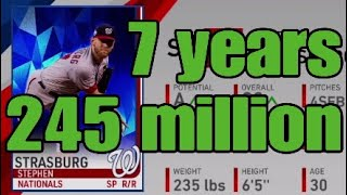 Stephen Strasburg Signs record contract!