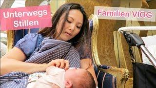 STILLEN IN DER ÖFFENTLICHKEIT? UNTERWEGS MIT BABY + KINDERN - FAMILIEN VLOG | Mamiseelen