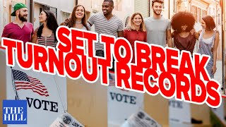 Rock the Vote Exec Dir: Young voters set to break turnout records in 2020