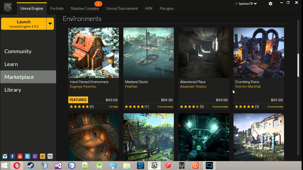 Unreal Engine #1 Epic game launcher - YouTube
