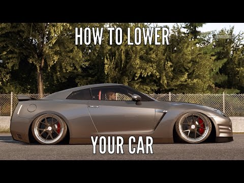 Forza Horizon 2 | How To Lower Your Car