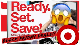 Target Black Friday 2018 Ad Tech Gadget Breakdown + Review (First Youtube Video)