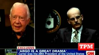 Jimmy Carter: 'Argo' Was Good, But Inaccurate