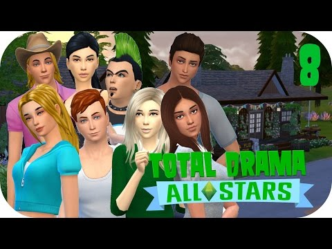 Sims 4 || Total Drama All Stars - Part 8: Together At Last!