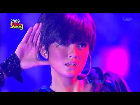 AGNEZ MO SHAKE IT OF , TEMPERATURE~  ASIAN SONG FESTIVAL 2009
