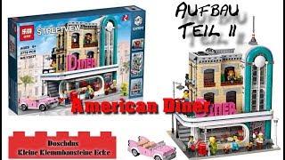 American Diner - LEPIN - 15037 - Aufbau, Teil 2 - Deutsch / German