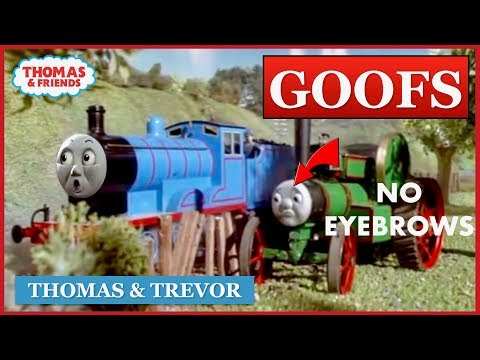 Goofs Found In Thomas & Trevor (All Of The Mistakes)