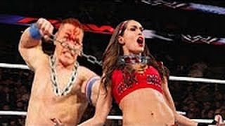 WWE John Cena vs Nikki Bella Full Match 2017 || John Cena And Nikki Bella vs Ellsworth And Carmella