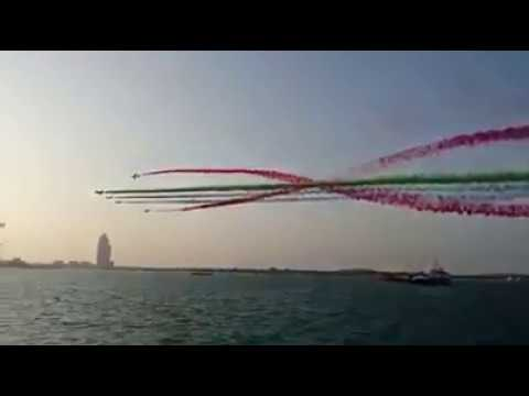 UAE National day 2017 air show in abudhabi corniche