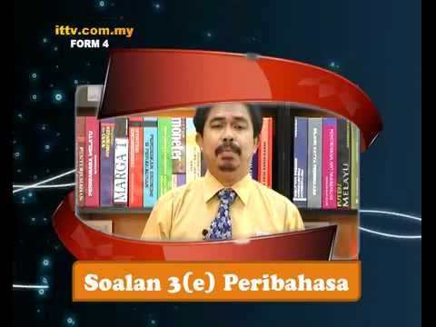 iTTV SPM Form 4 Bahasa Malaysia Preview -Tuition/Lesson/Exam/Tips