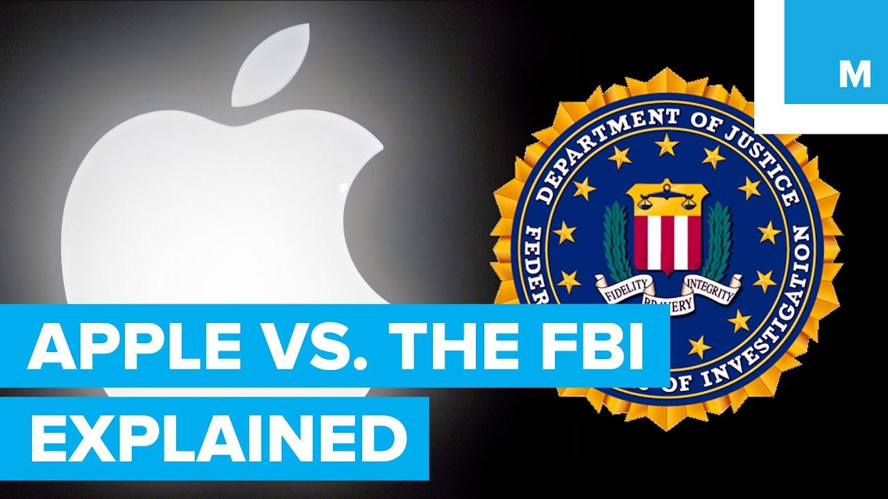 Apple vs. the FBI Explained | Mashable - YouTube