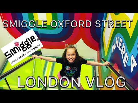 LONDON VLOG | SMIGGLE OXFORD STREET | MEETING VIEWERS | SLIME & SCHOOL SUPPLIES