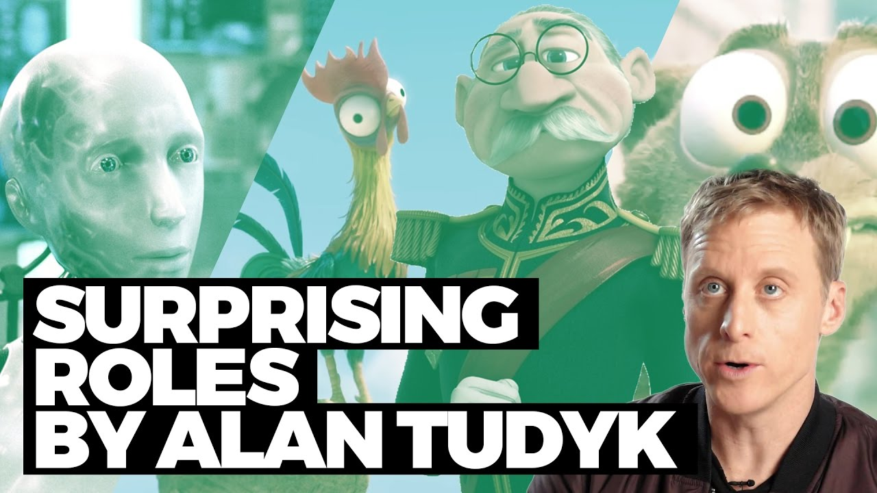 Discover The Many Surprising Voice Acting Roles Of Alan Tudyk Youtube