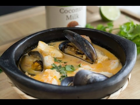 Colombian Seafood Stew Recipe | How To Make Cazuela De Mariscos | SyS