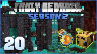 Honey Farm / Glass Shop | Truly Bedrock Season 2 Episode 20 | Minecraft Bedrock Edition