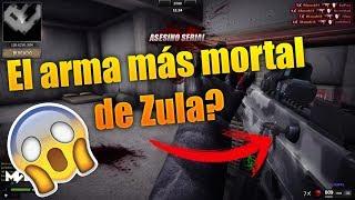 El arma más peligrosa de Zula 😱😱   Wanted   Saludos   HD 60fps   2017