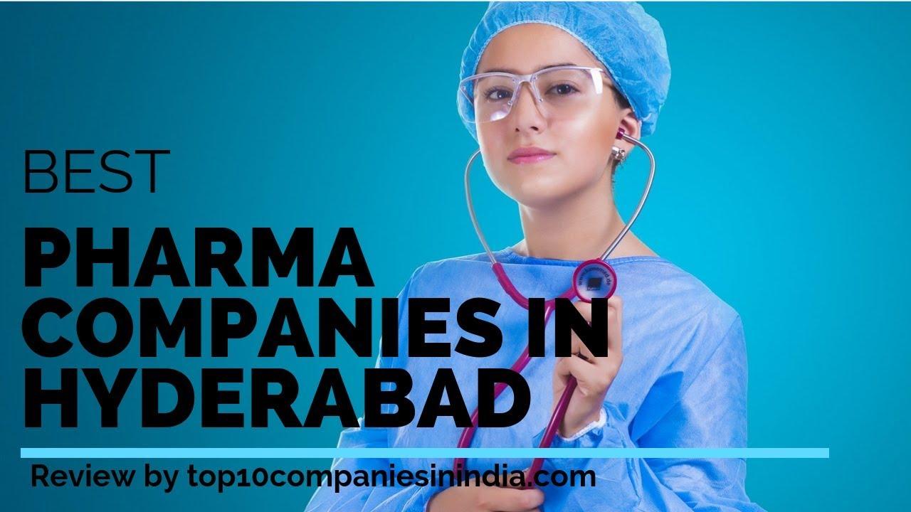 Top 10 Pharma companies in Hyderabad