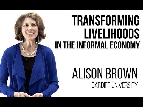 Alison Brown - The Urban Informal Economy
