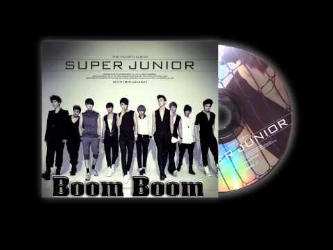Super Junior - Boom Boom  (Audio)