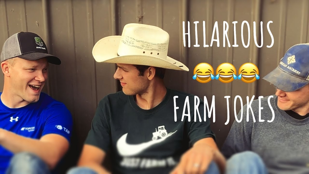 ?HILARIOUS Farm Jokes (Try Not To Laugh!) ?