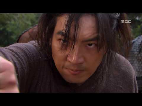 [고구려 사극판타지] 주몽 Jumong 대소에게 부탁하는 금와, 주몽을 구하는 오마협, 모팔모