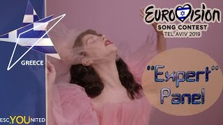 Eurovision 2019: Greece REVIEW: Katerine Duska - Better Love | 'Expert' Jury