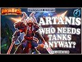 Grubby | Heroes of the Storm - Artanis - Who Needs a Tank Anyway? - HL 2018 S3 - Braxis
