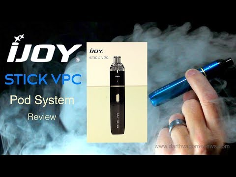 IJoy | Stick VPC | Pod System | Starter Kit Review