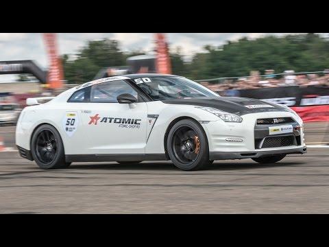 Nissan GT-R R35 vs Lamborghini Gallardo Nera vs Audi RS6