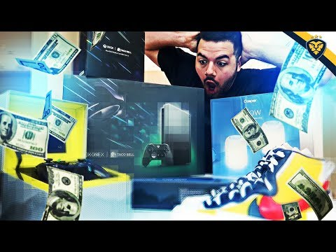COURAGE'S $2,500+ UNBOXING! INSANE GIFTS!