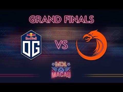 OG vs TNC Game 1 - MDL Macau 2017: Grand Finals - @ODPixel @WinteR