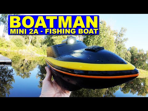 A Cool Little Bait Boat To Help You Catch Fish - BOATMAN MINI 2A - Review